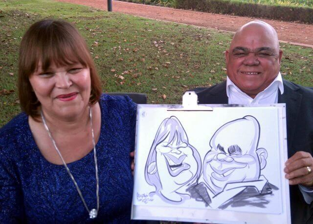 Martinus van Tee caricatures photo booth alternative Cape Town