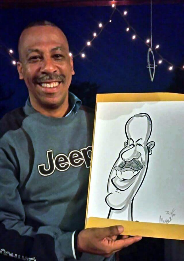 Caricature party entertainment by Martinus van Tee Somerset West