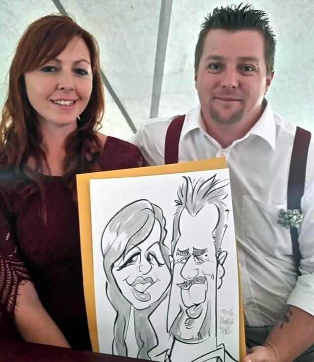 spookhuis-mosaic-hermanus-wedding-caricature-entertainment-by-martinus-van-tee
