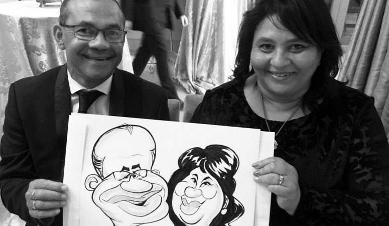 One & Only caricatures