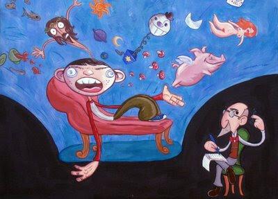 psychiatric couch