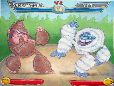 Sasquatch vs yeti