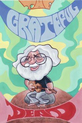 Jerry Garcia ‑The Grateful Dead