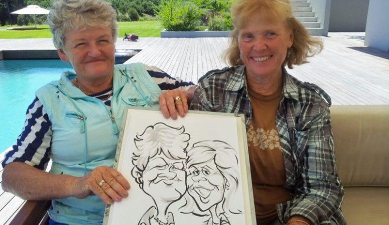 Grabouw/Elgin party caricatures