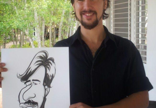 Staff Caricatures at D'Aria