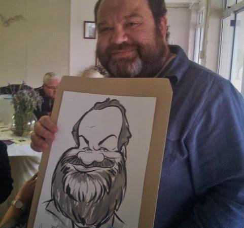 Caricatures at Villa Visaggio's, Paarl