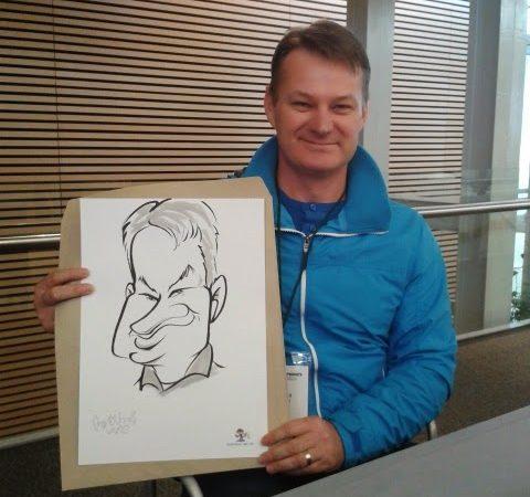 Entrepreneur Conference, CTICC-caricature sketches