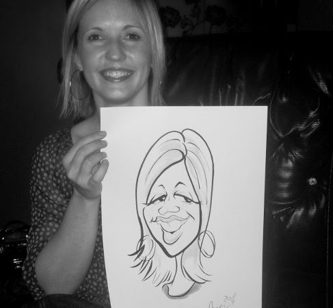 Caricatures for Protea Hotels JHB Day 1