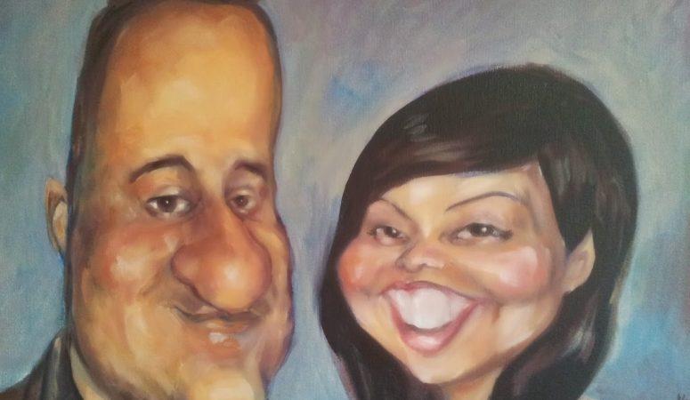 Oil Painting Caricature Portraits
