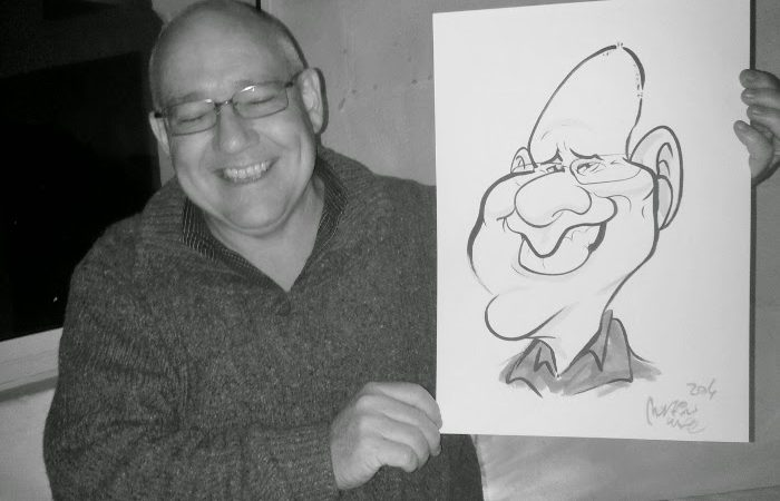Anton's birthday caricatures