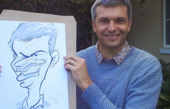 Caricature portraits for PEP, Lemoenkloof Paarl.