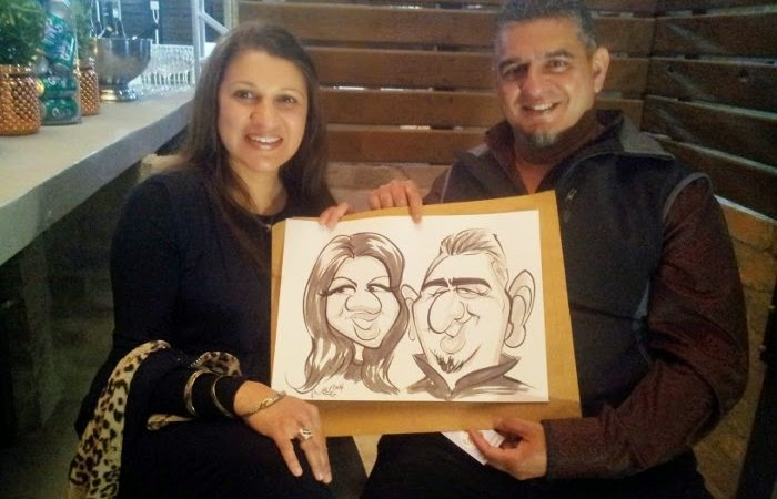 Caricature at the Aleit Academy, Lourensford.