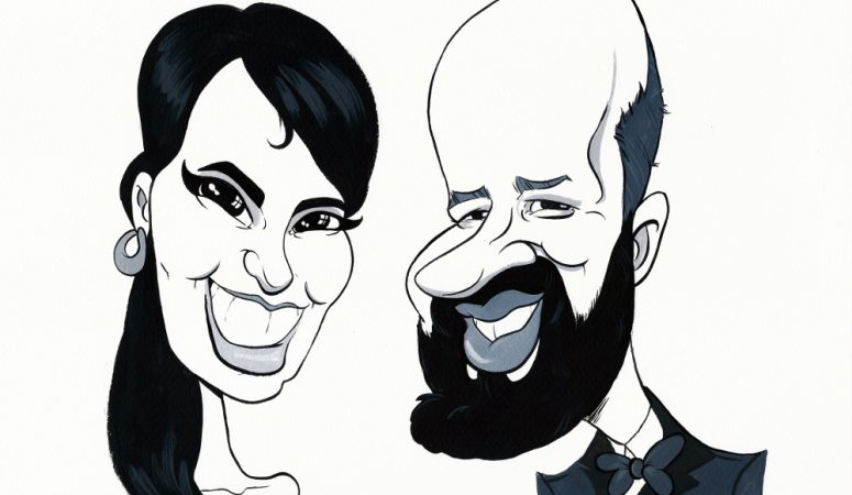 Caricature commission