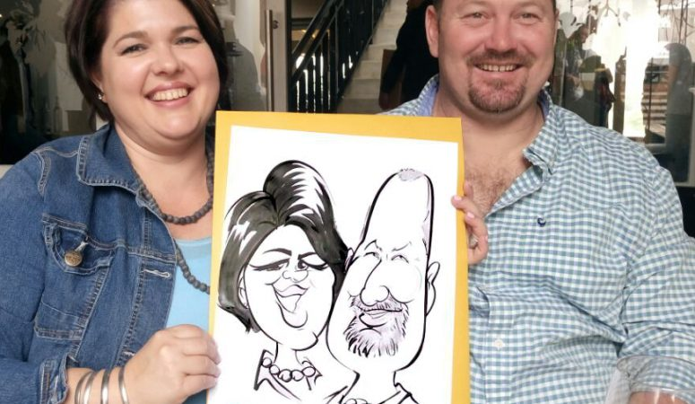 International Pinotage Day caricatures