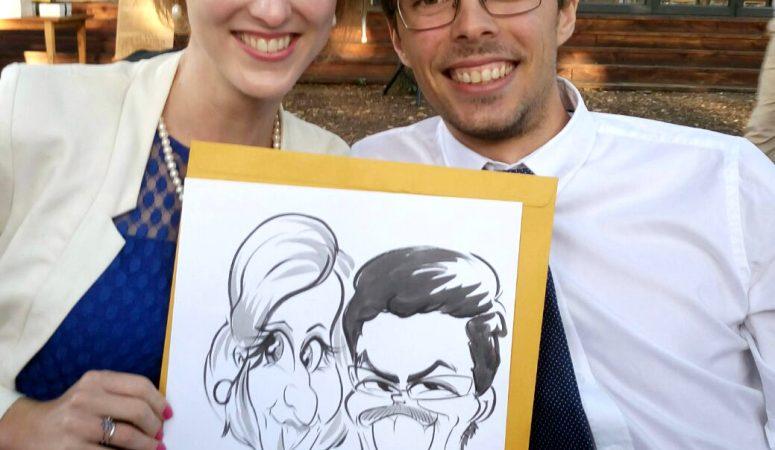 Caricatures at Die Woud