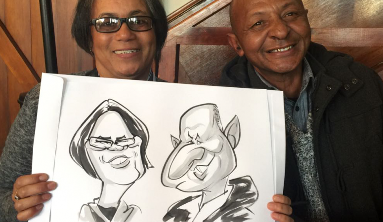 Zorgvliet caricatures