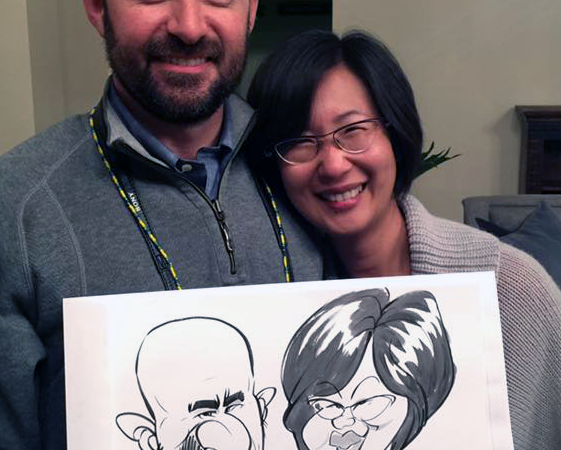 Conference caricatures — Part one