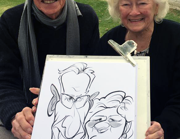 Event entertainment caricatures