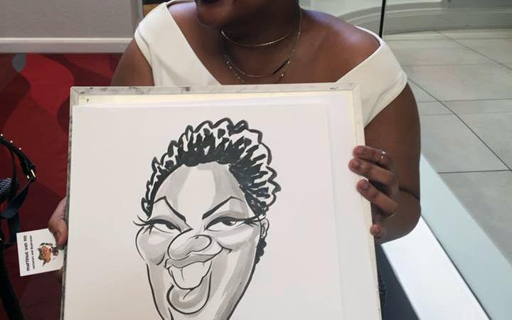 Teacher's Day Awards caricatures