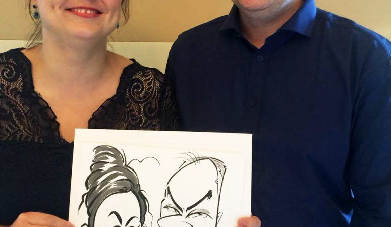 One & Only wedding caricatures — Part 2