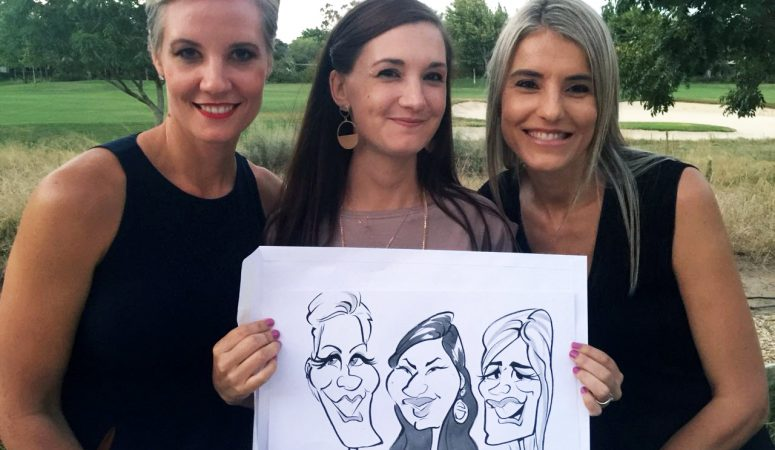 Pearl Valley caricatures
