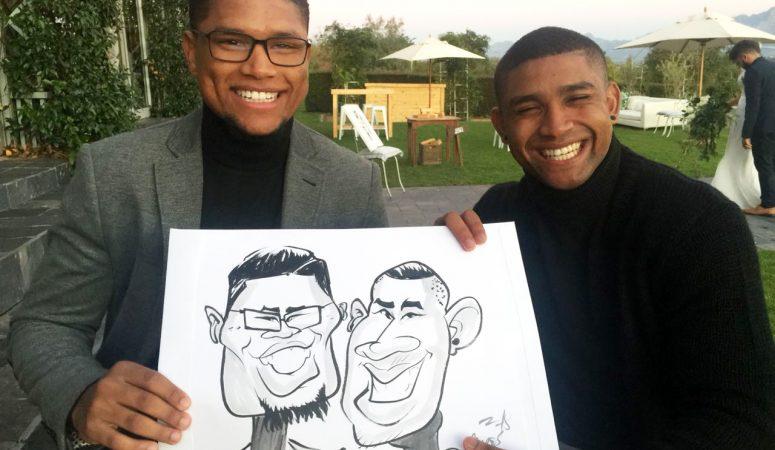 Belair caricatures