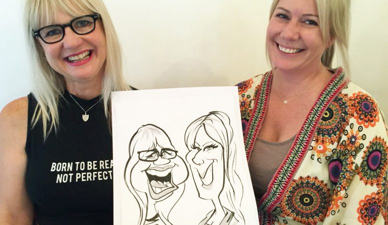 Corporate function caricatures