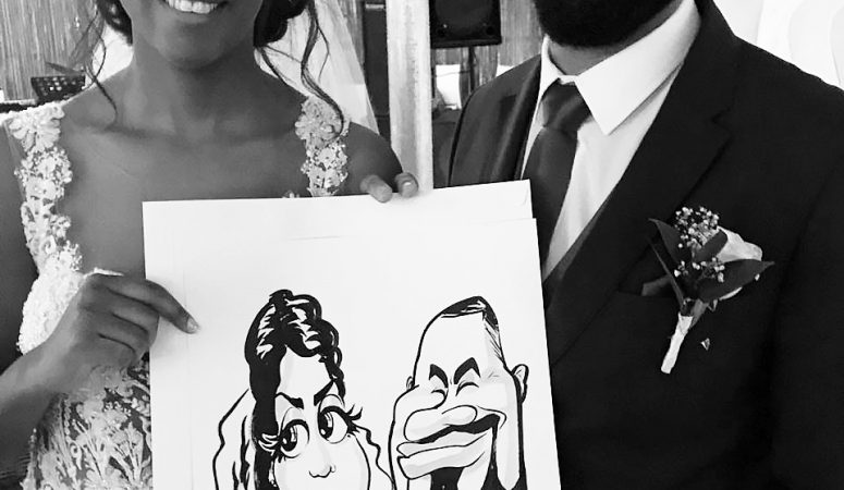 401 Rozendal wedding caricatures