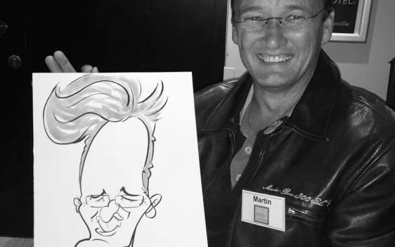 Mercedez Benz club caricatures