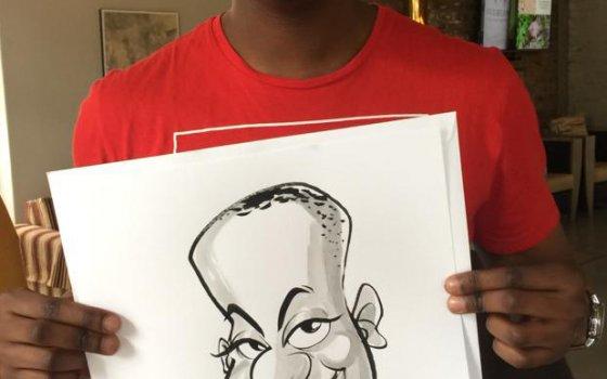Franschhoek caricatures