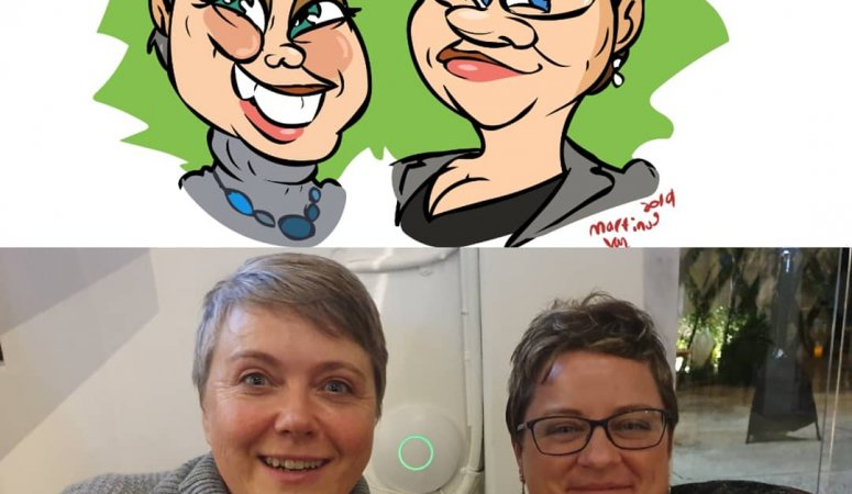 Digital Caricatures at The Argyle Woodstock Cape Town